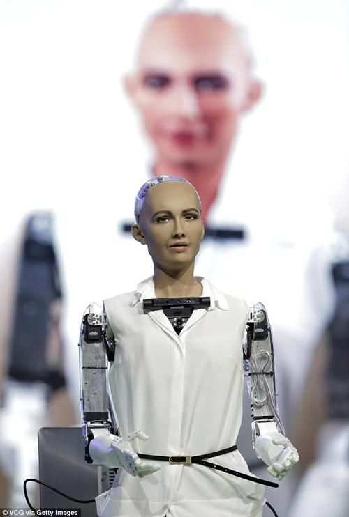 робот может вести новости