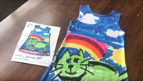 одежда с детским дизайном