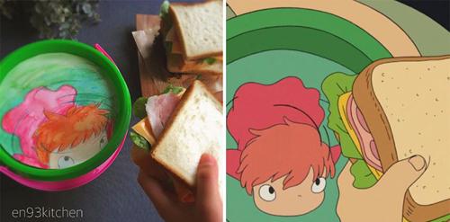 еда по рецептам из мультфильмов