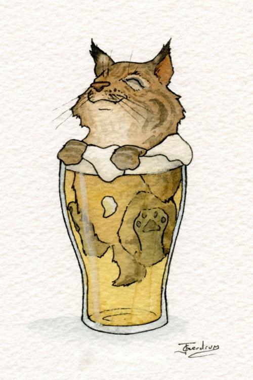 картинки с пьяными животными