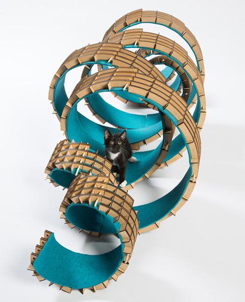 удивительные домики для кошек