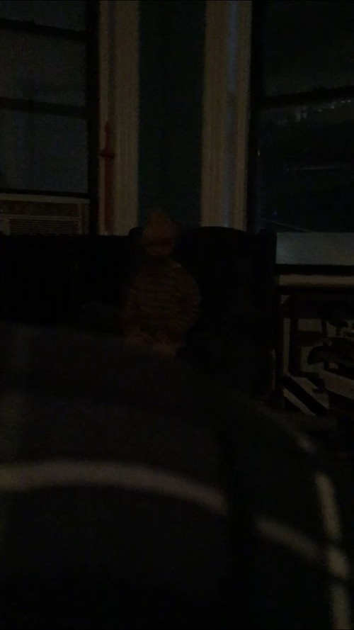 фото с призраком жуткого ребёнка