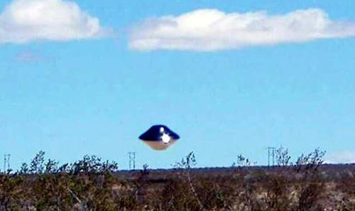 фото с летающей тарелкой