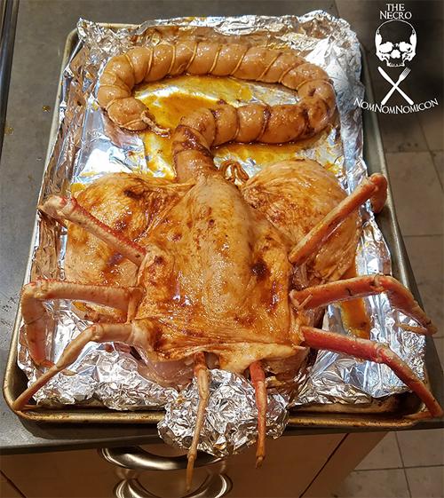 пугающий праздничный обед