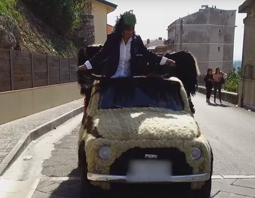 самый волосатый автомобиль в мире