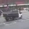 грузовик сбил пешехода и уехал