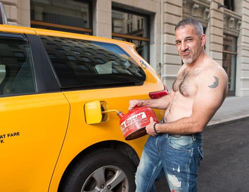календарь с таксистами