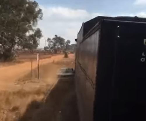 автомобилист не заметил поезд