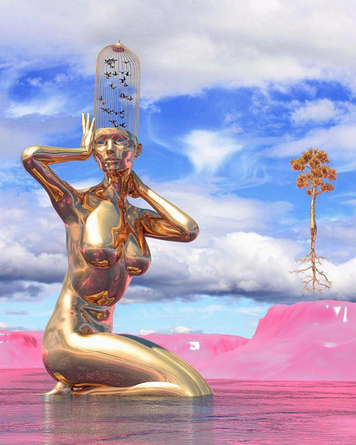 потрясающие 3d скульптуры