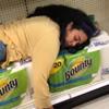 покупательница заснула в магазине