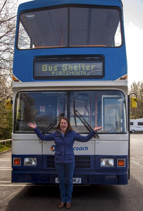 автобус стал приютом для бездомных