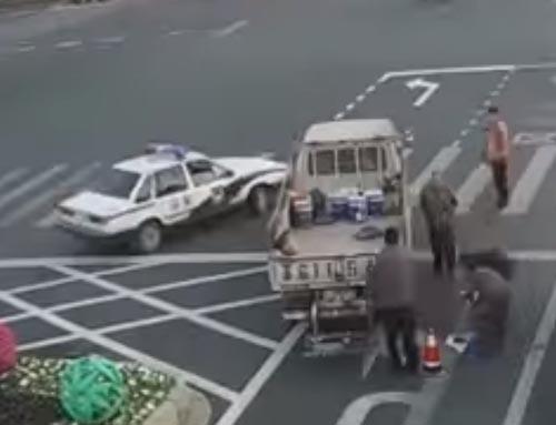 борьба с пробками на дороге