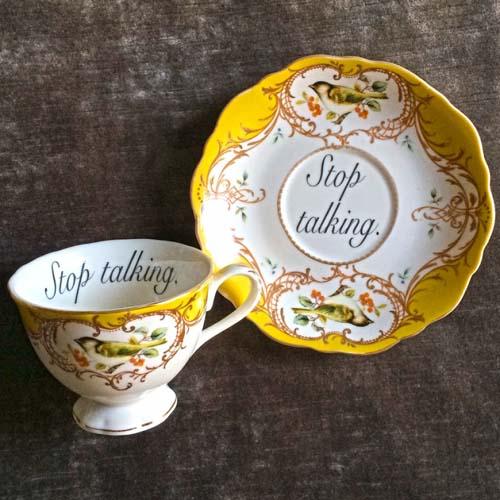 чайные чашки с оскорблениями