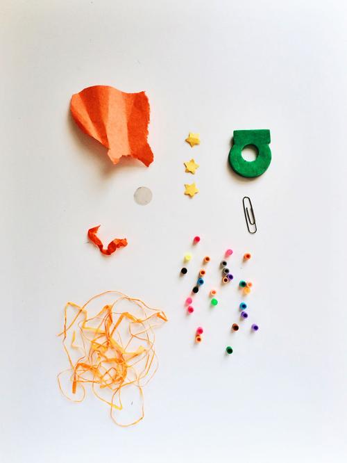 сокровища в карманах дошкольника