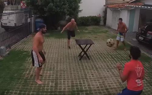 новый вид футбола