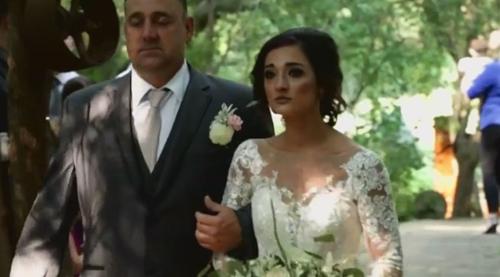 неудачный букет испортил свадьбу
