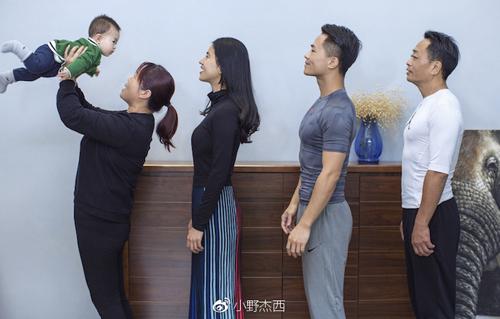 семейство занялось фитнесом
