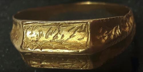 золотое кольцо 15 века
