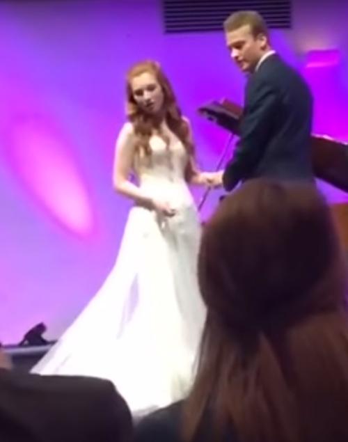 гость упал на свадьбе