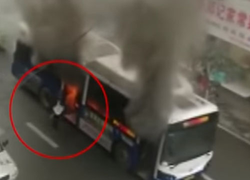 владелец магазина спас пассажира