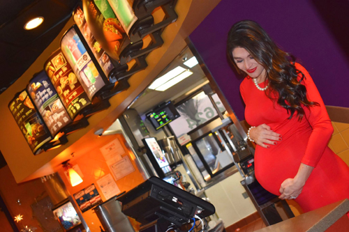 фотосессия в сетевом ресторане