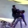 урок для грабителей на мотоцикле