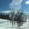 снежный торнадо сняли на видео