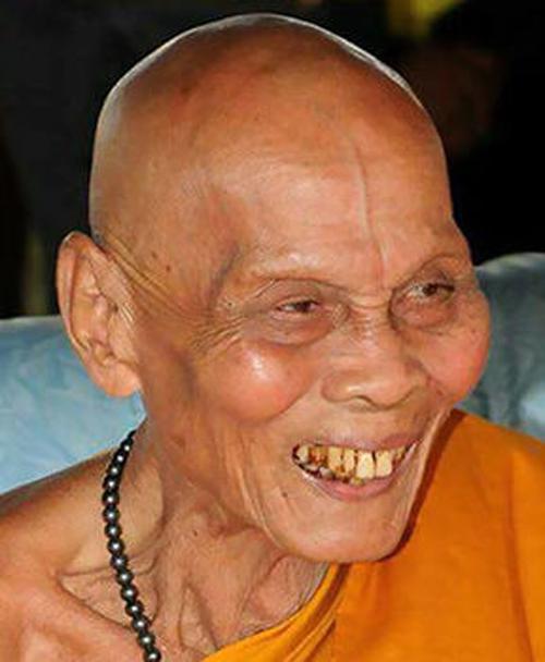 улыбка умершего монаха