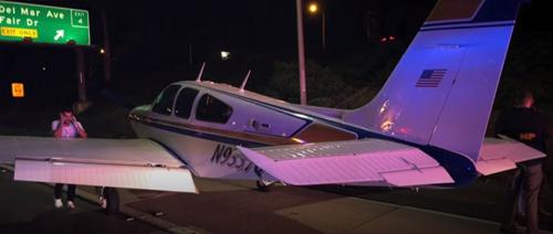 аварийная посадка самолёта