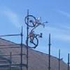 велосипеды в неожиданных местах