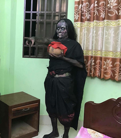 злой дух вселился в актрису
