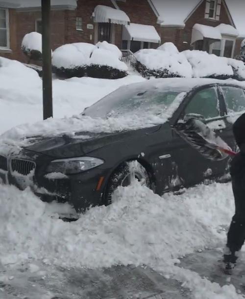 снег как средство наказания