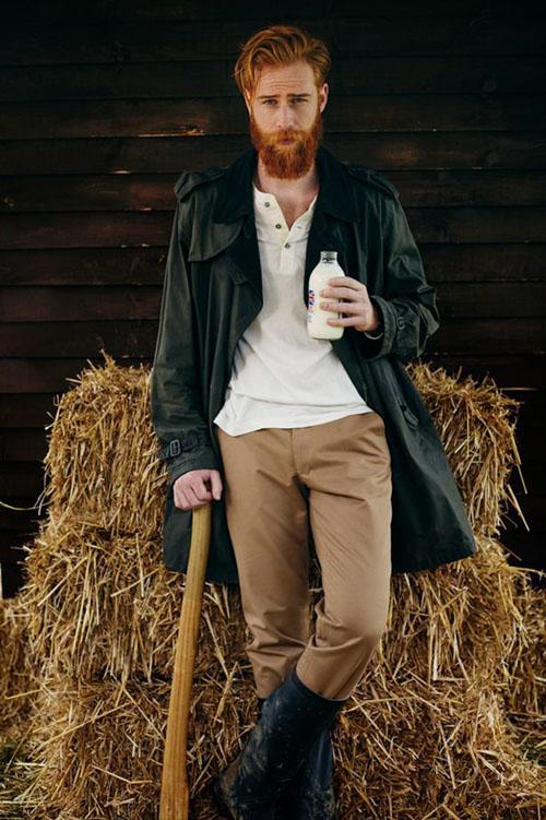 борода изменила жизнь мужчины