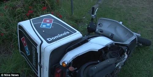 подросток угнал скутер с пиццей