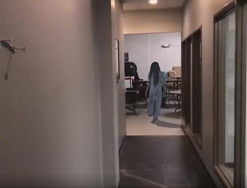 знакомство с девочкой-призраком