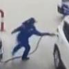 инцидент на автозаправке