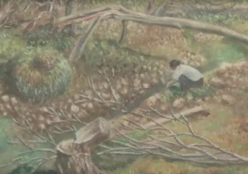 фермер с художественным талантом