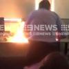учитель устроил пожар