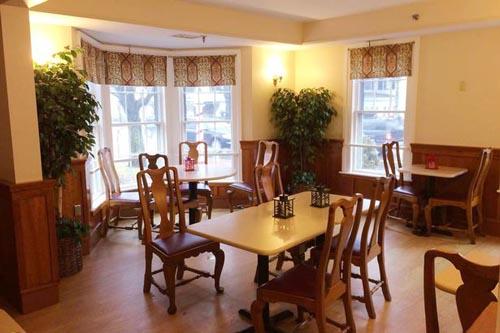 ресторан в старинном особняке