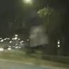 призрачная девушка на дороге
