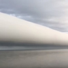 необычный облачный рулон
