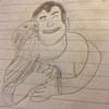 школьник рисует плохие портреты