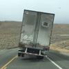 ветер повалил грузовик