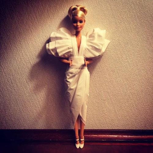 шикарные наряды для кукол