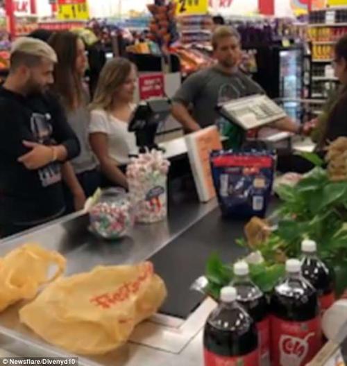 поход за продуктами