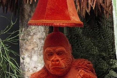 лампа в виде гориллы