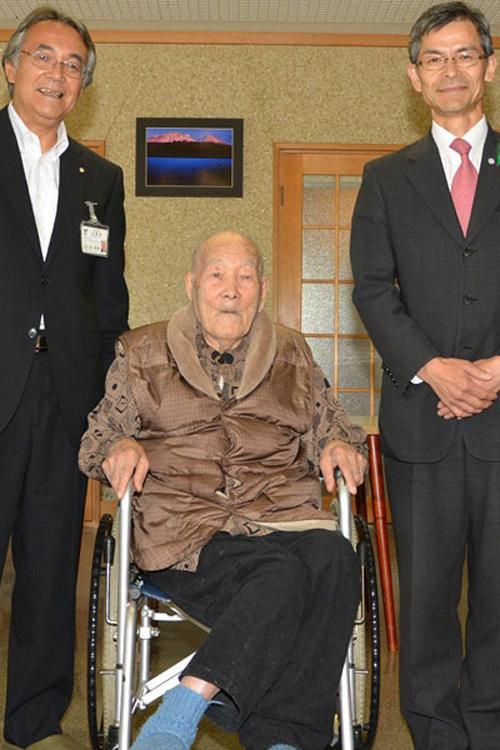 старейший мужчина в мире