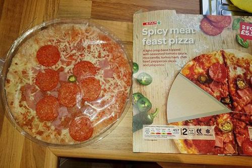 пицца разочаровала покупательницу