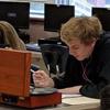 студент-меломан на экзамене