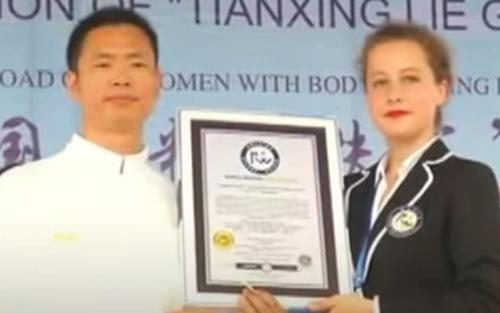 рекорд мастера боевых искусств